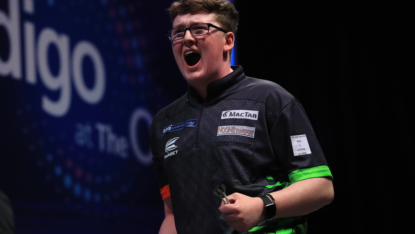 Keane Barry impresses on Icons debut