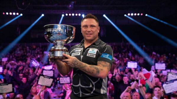 Double Grand Slam of Darts winner Gerwyn Price