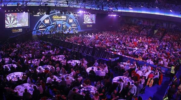 PDC World Darts Championship at Allay Pally