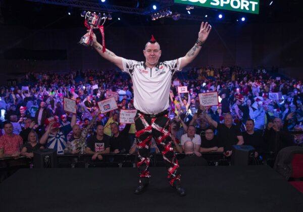 2020 Masters Winner Peter Wright