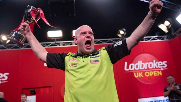 MvG winning the UK Open