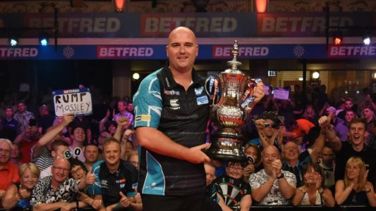 Rob Cross 2019 Matchplay champion