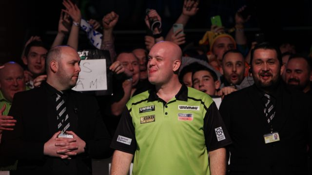Michael van Gerwen Fires A Warring To His Rivals