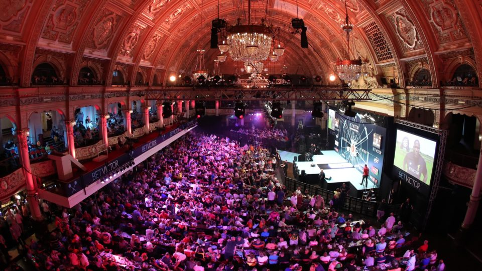 The World Matchplay At Milton Keynes Behind Closed Doors