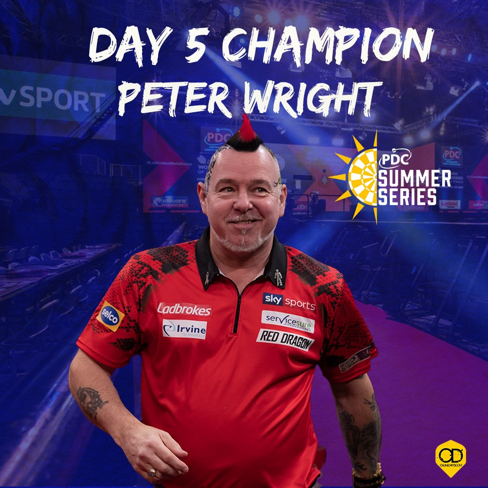 Wright wins on dramatic day five of Summer Series
