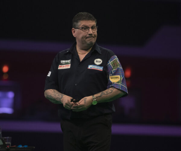 Gary Anderson concerns around the Autumn Series