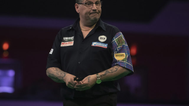 Gary Anderson pulls out of Autumn Series and World Series