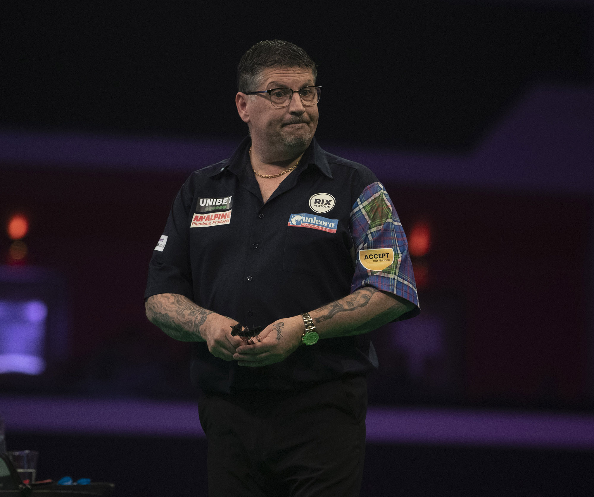Gary Anderson expresses concerns around having to travel for the Autumn Series and is yet to decide if he will go.