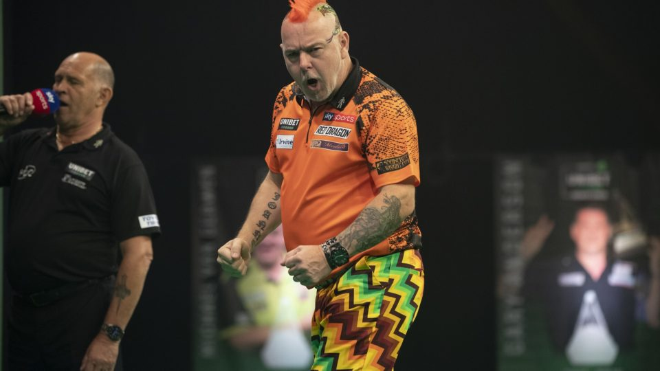 Wright thrashes van Gerwen on night 13 of Premier League