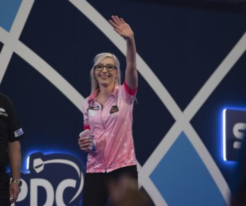 Fallon Sherrock at the William Hill World Darts Championship