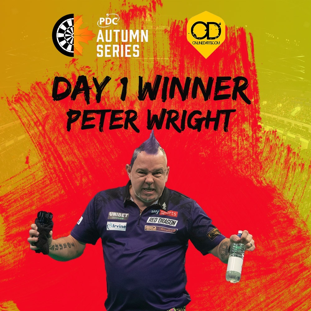 Wright wins day one of Autumn Series