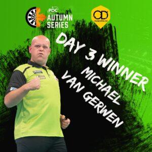 Michael van Gerwen returns to winning ways
