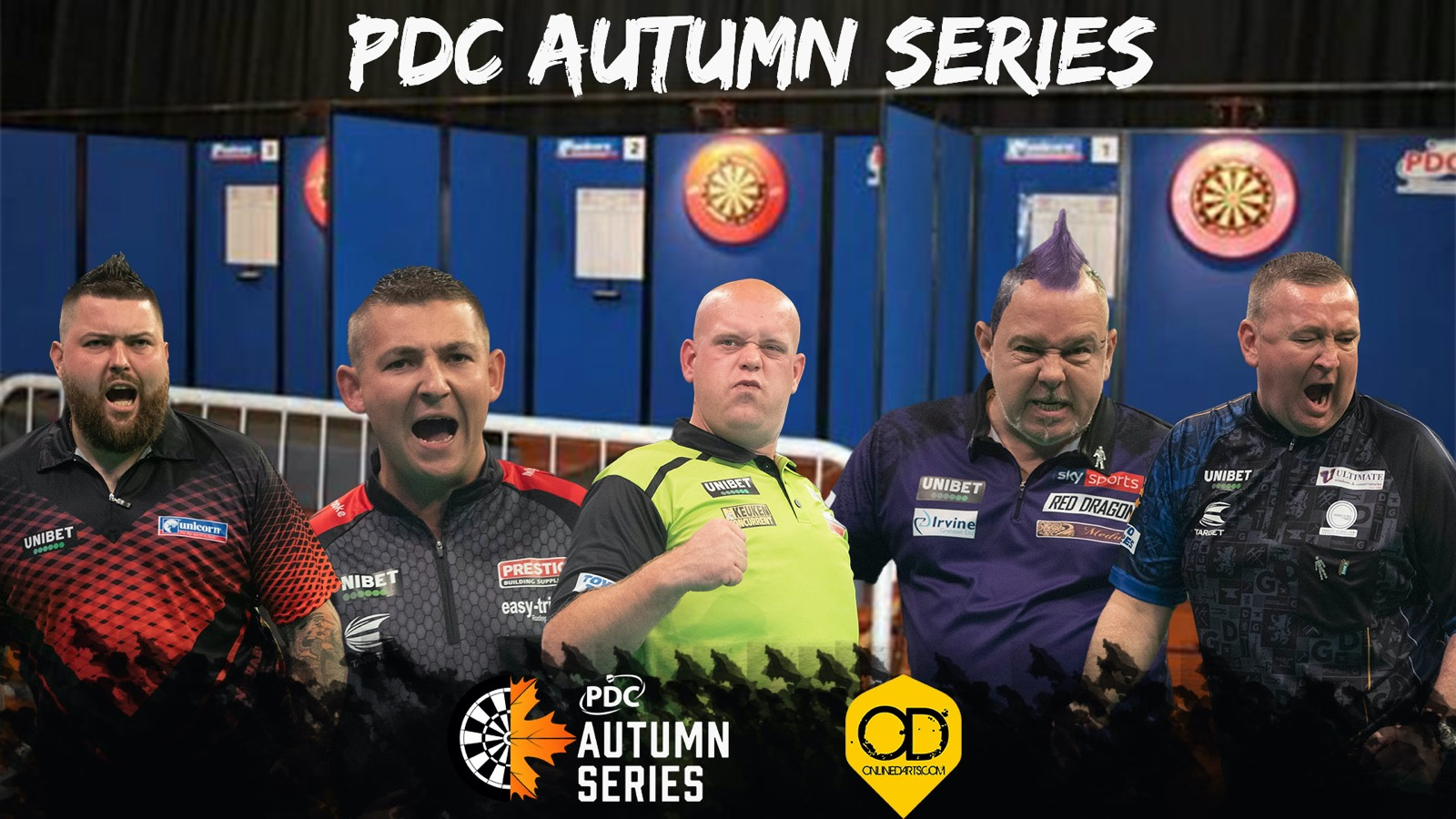 PDC Autumn Series: How to follow the action