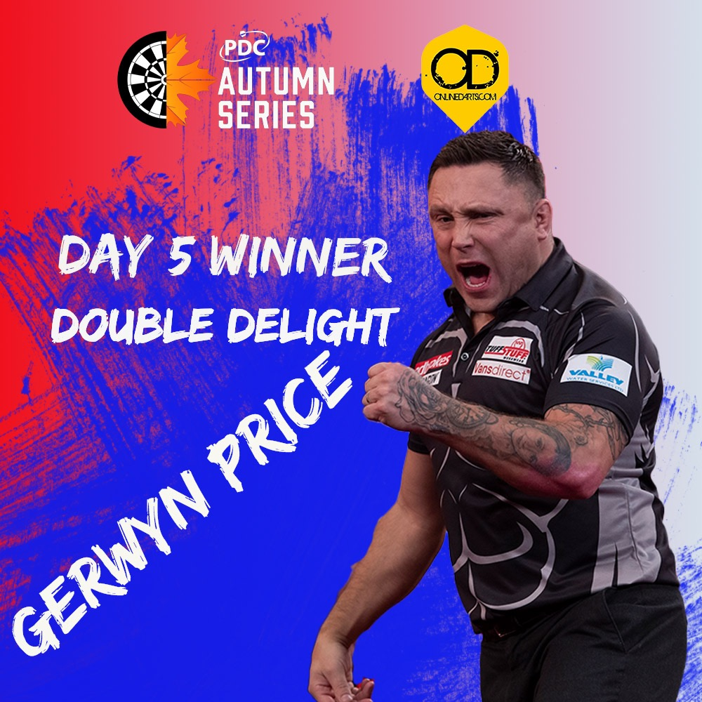 Price wins second Autumn Series title on day five