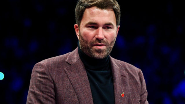 "Eddie Hearn ""Someday you'll see me take the reins."""