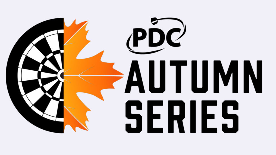 Entries for the PDC Autumn Series confirmed