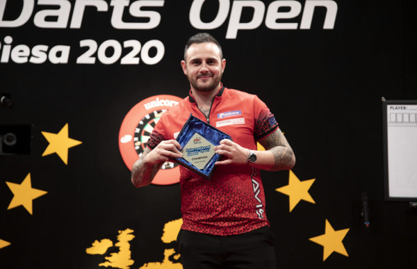 2020 European Darts Championship Draw