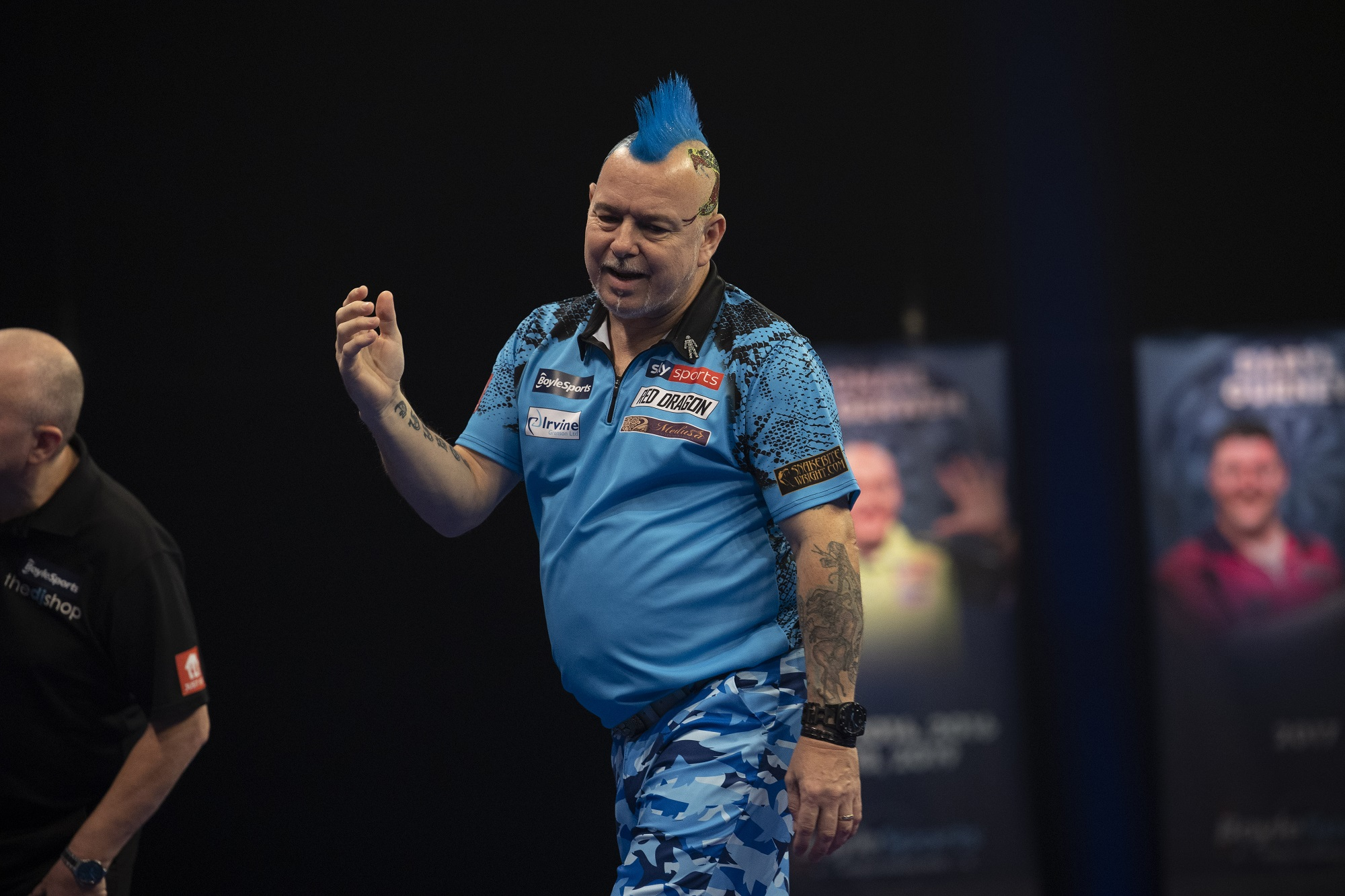 Day two of Gibraltar Darts Trophy sees Rydz beat Wright