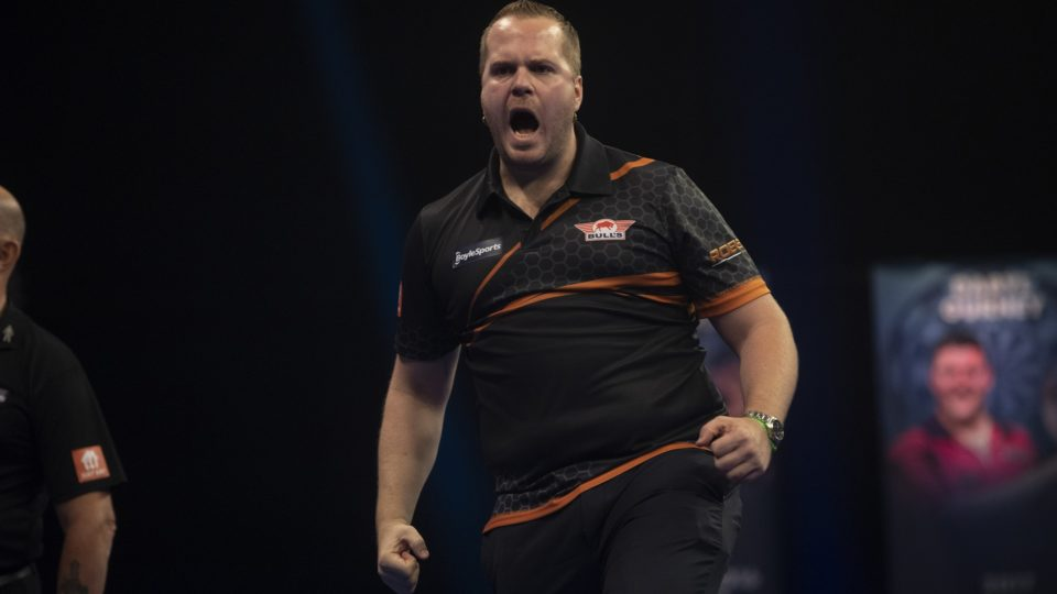 Day One of Grand Slam sees van Duijvenbode shock Wright
