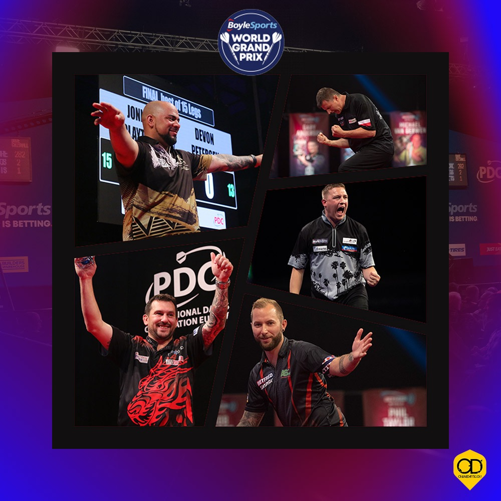 Boylesports World Grand Prix: Day Three Live Blog