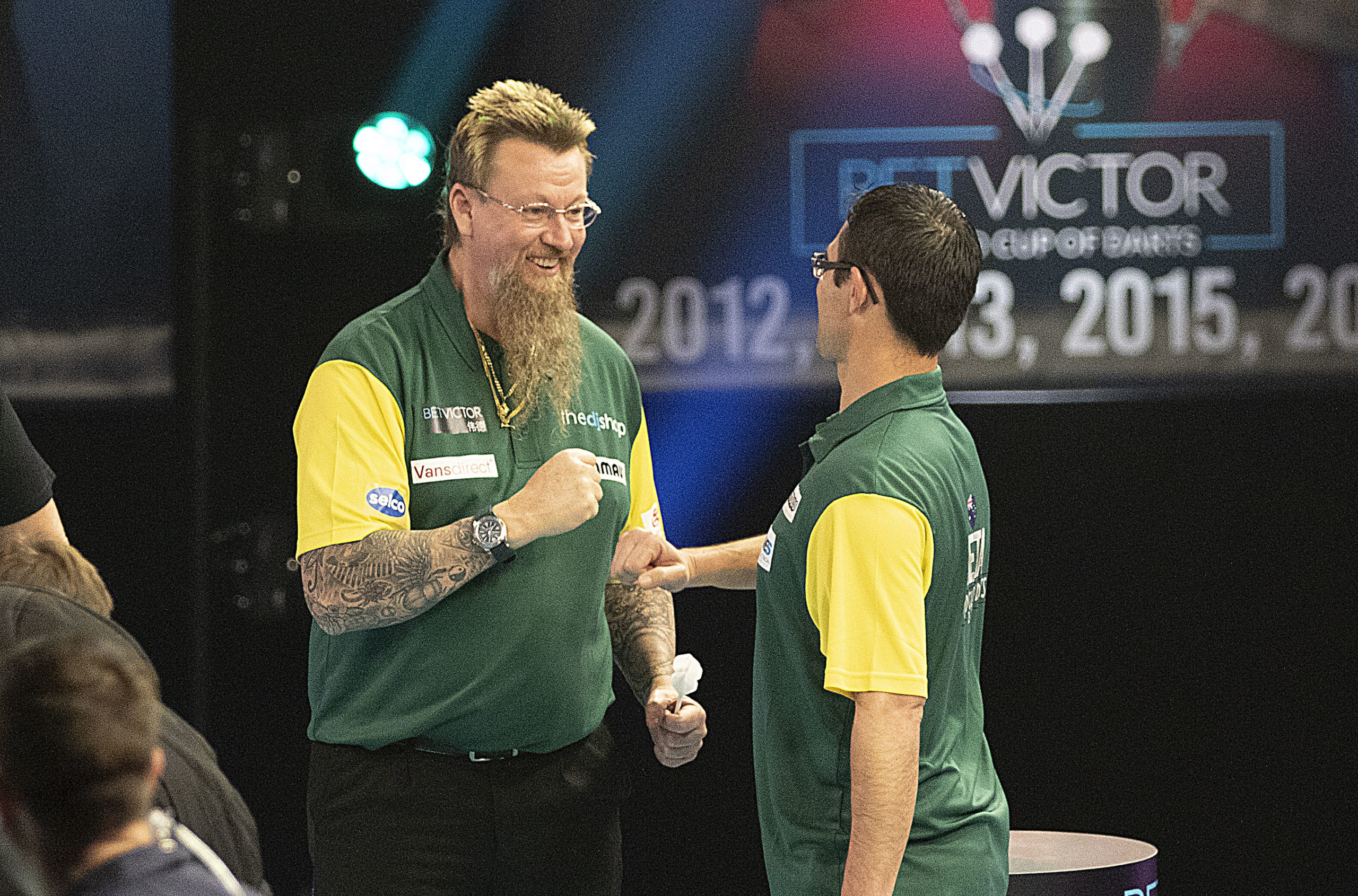 Favourites dominate on day two at World Cup of Darts