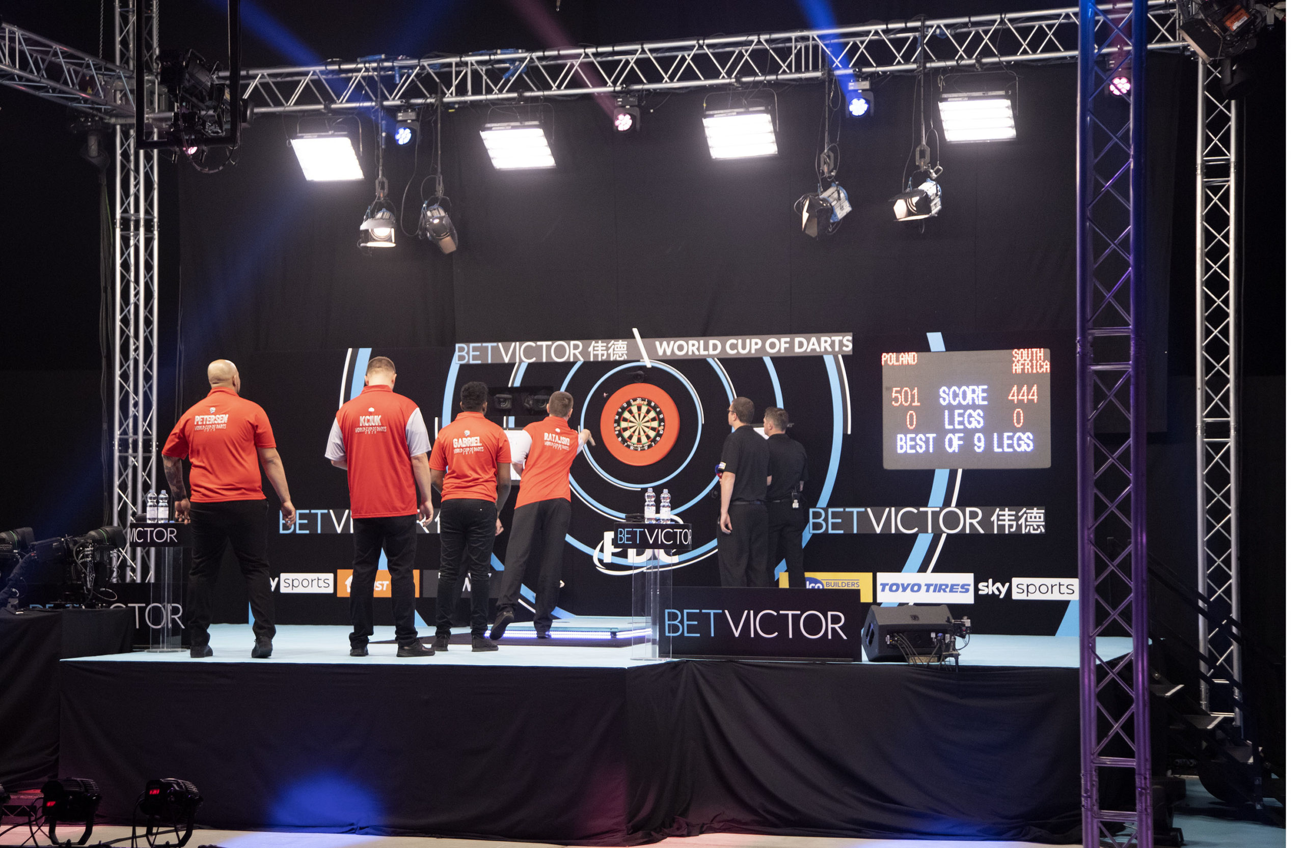 World Cup of Darts: Finals Day Live Blog