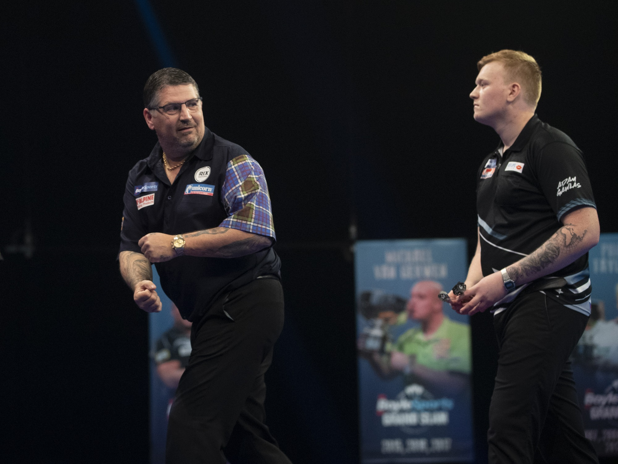 """Gary Anderson On Cheating """"If they do it, they're not darts players, they're cowards it's as simple as that."""""""