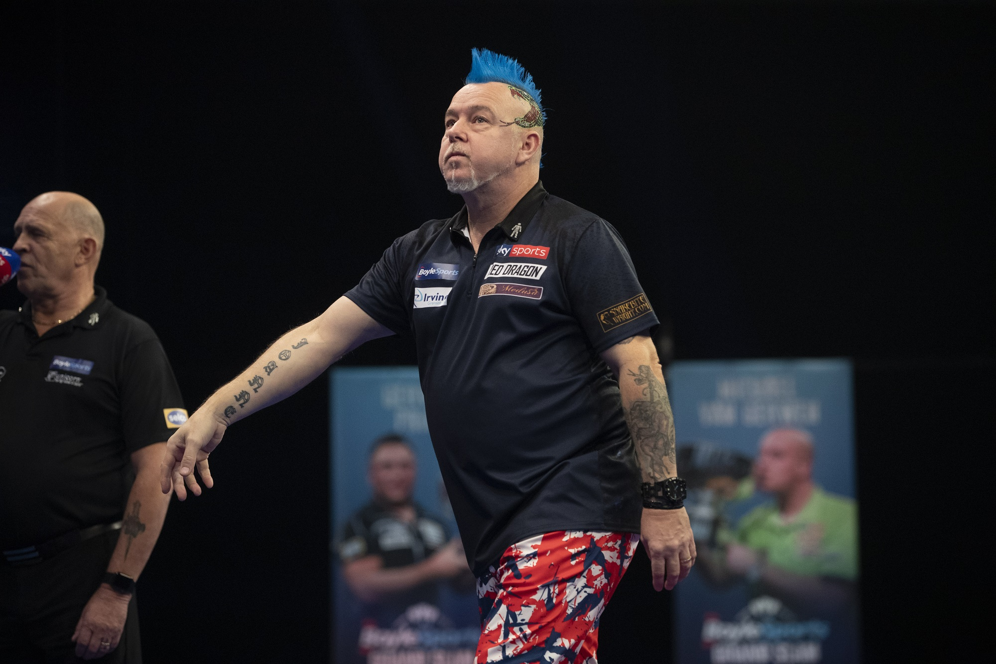 Wright and Anderson fall on day one of UK Open