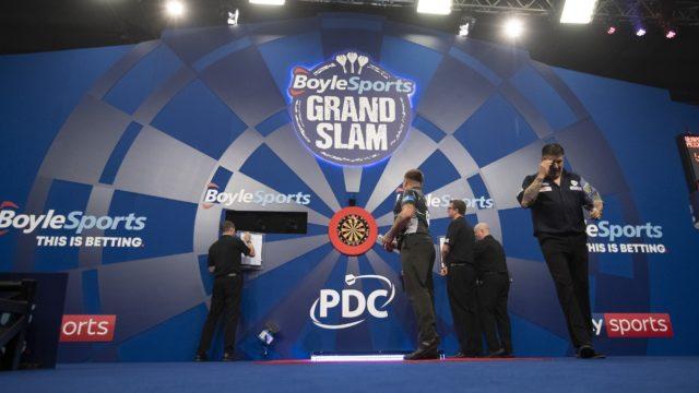 BoyleSports Grand Slam of Darts: Day One Live Blog