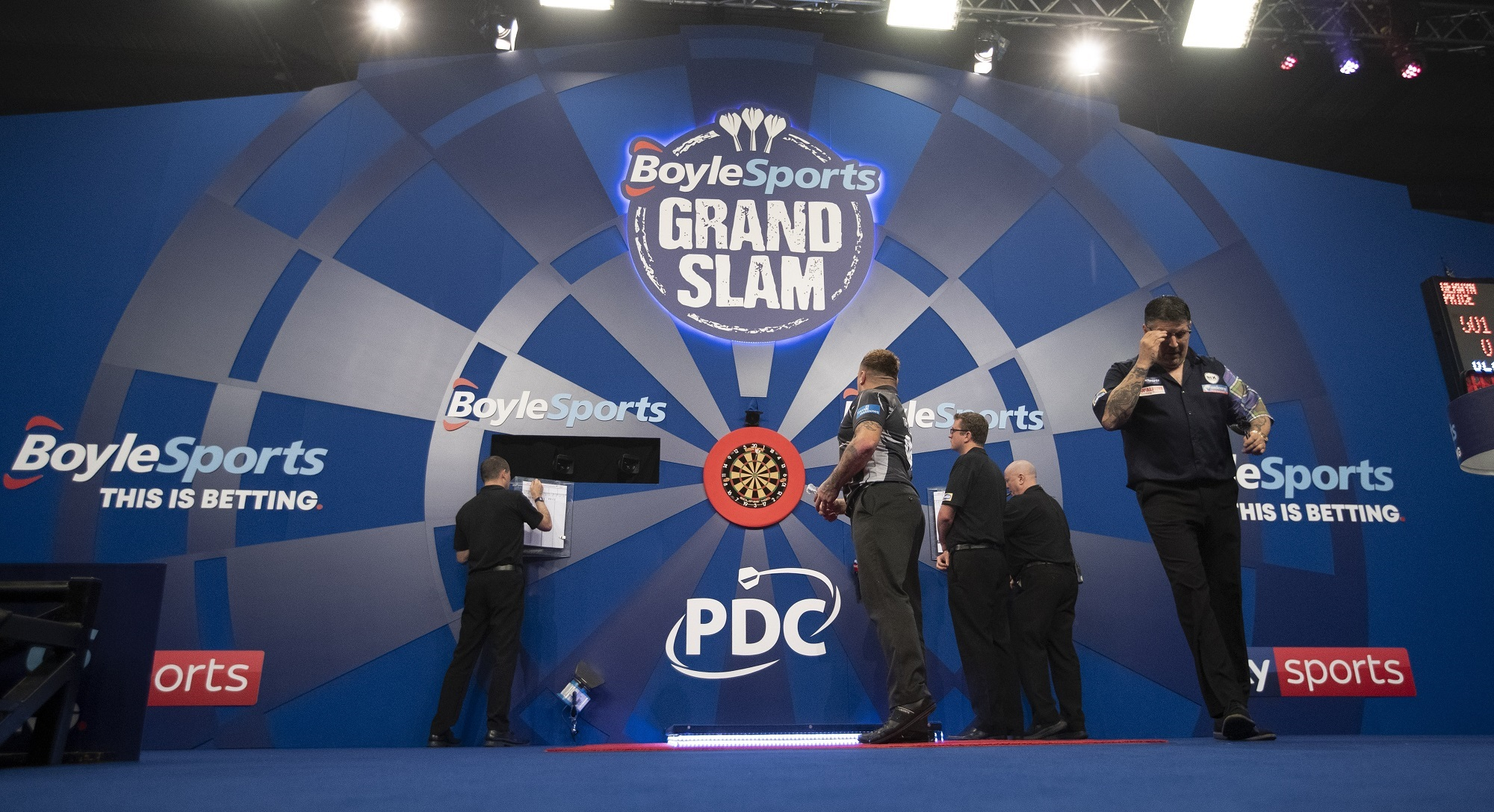 The BoyleSports Grand Slam of Darts Schedule, Results and How to Watch.