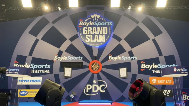 BoyleSports Grand Slam of Darts: Quarter Finals Live Blog