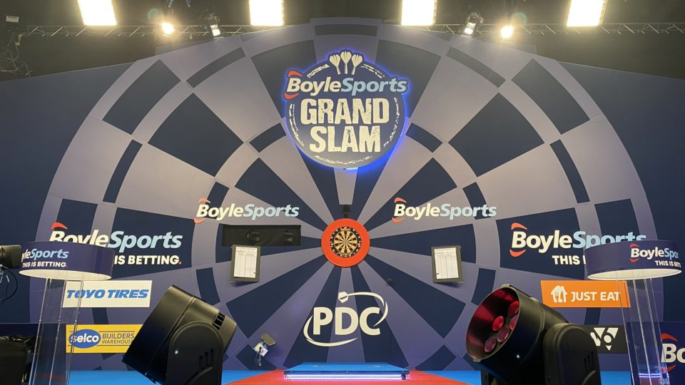 BoyleSports Grand Slam of Darts: Semi Finals Live Blog