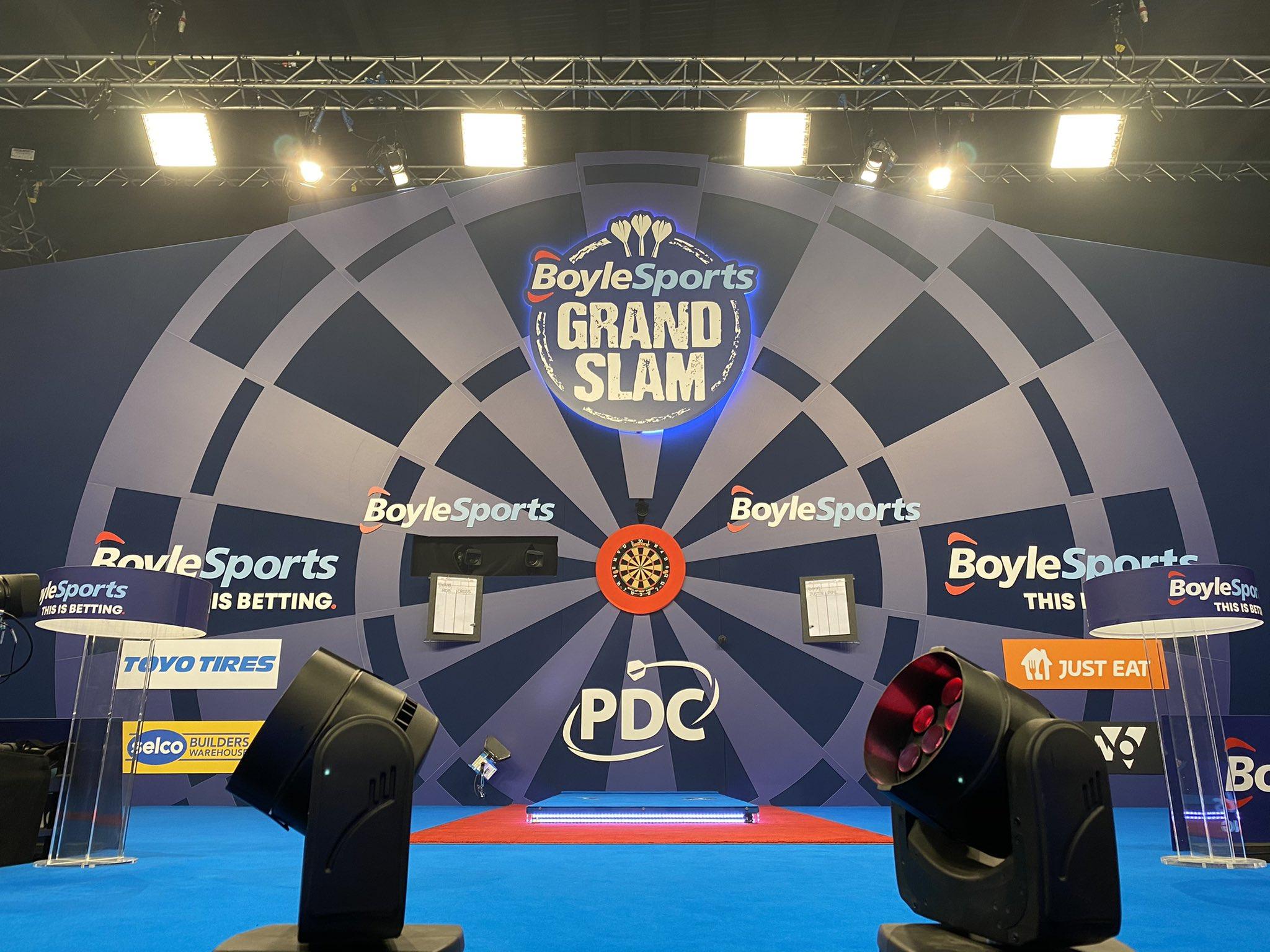 BoyleSports Grand Slam of Darts: Semi Finals Live Blog