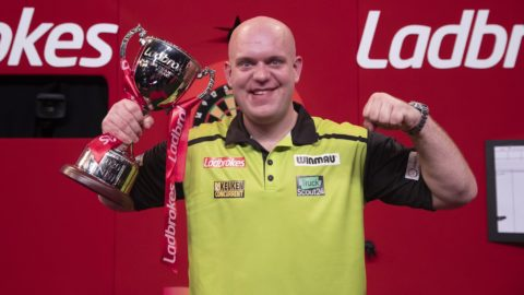 Van Gerwen wins 2020 Players Championship Finals