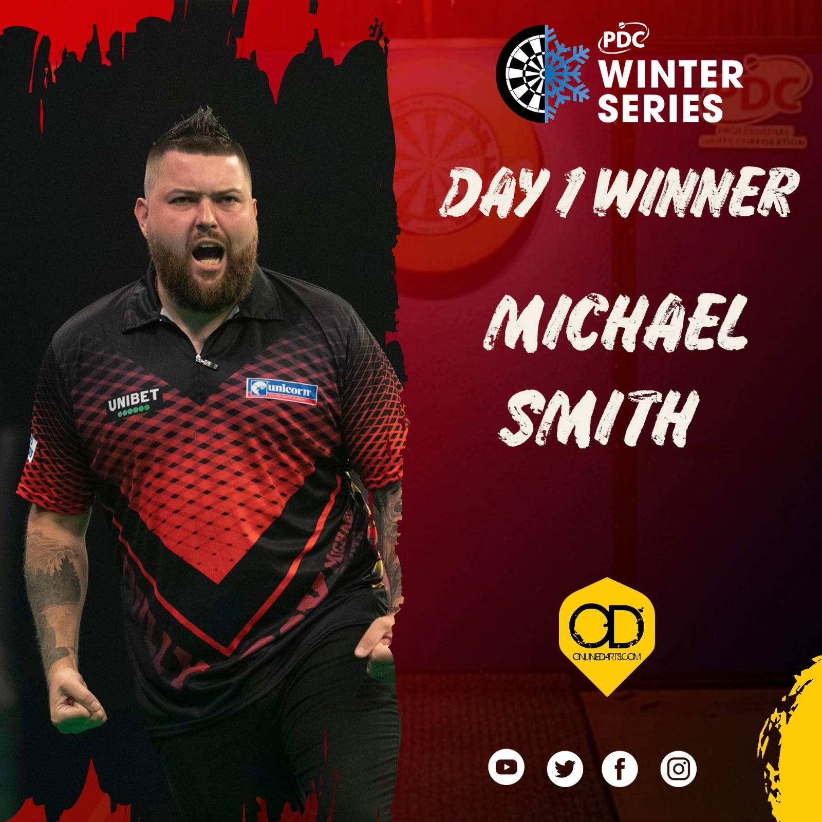 Smith wins first title in two years on day one of Winter Series