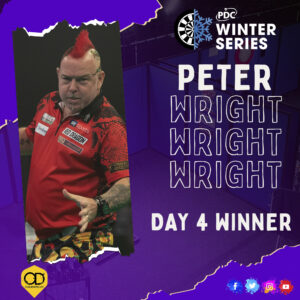 Wright triumphs on Day Four of Winter Series