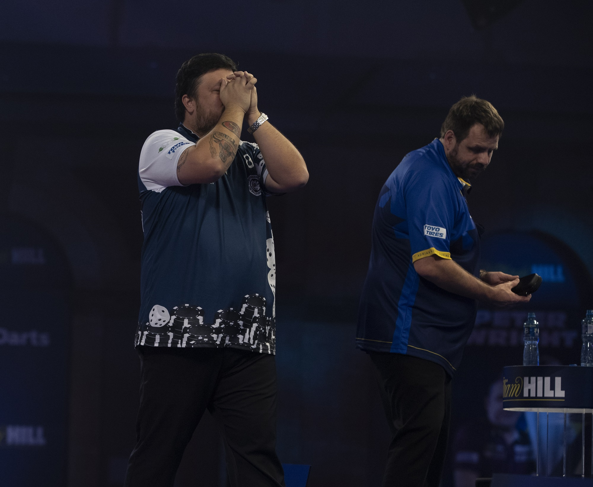 Two former champions knocked out on day eight of World Darts Championship