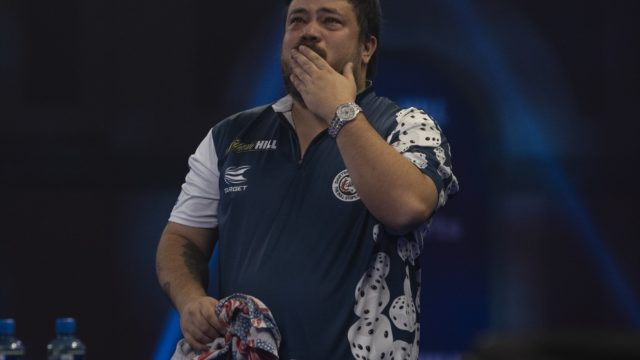 Danny Baggish dedicates second round World Darts Championship win to brother