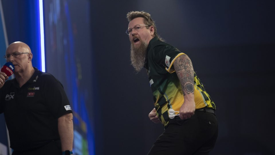 "Simon Whitlock after World Darts Championship win: ""There's no better than me right now"""
