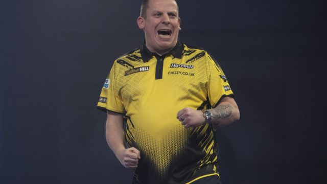 Chisnall stuns Van Gerwen in World Darts Championship quarter final