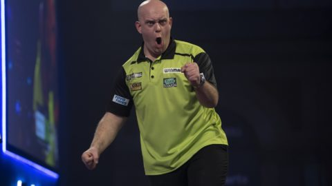 "Michael van Gerwen vows ""I'll be back, don't worry."""