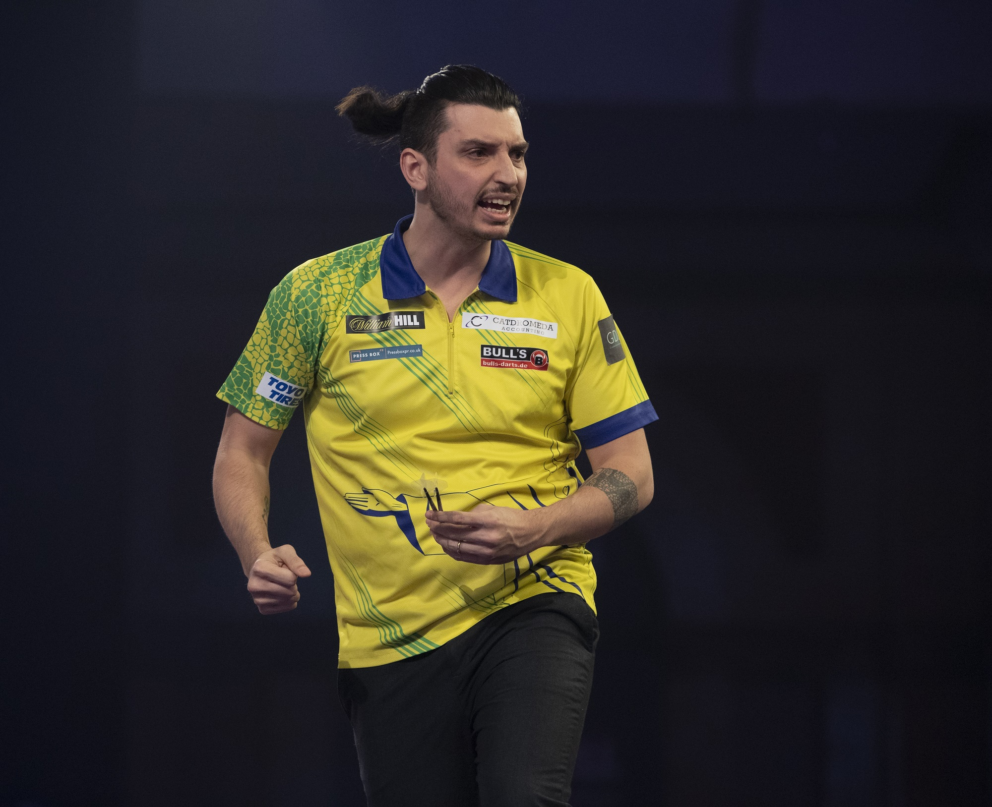 """Diogo Portela after World Darts Championship win: """"I was thinking about killing myself"""""""
