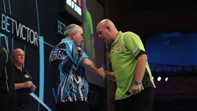 "Phil Taylor on Michael van Gerwen ""People are not frightened of him anymore."""