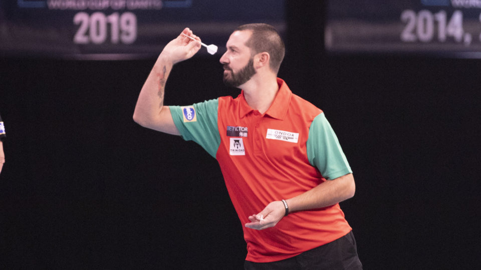Marques hits nine darter on day one of PDC Q-School Stage 1B