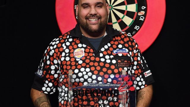 Kyle Anderson relinquished his PDC Tour Card