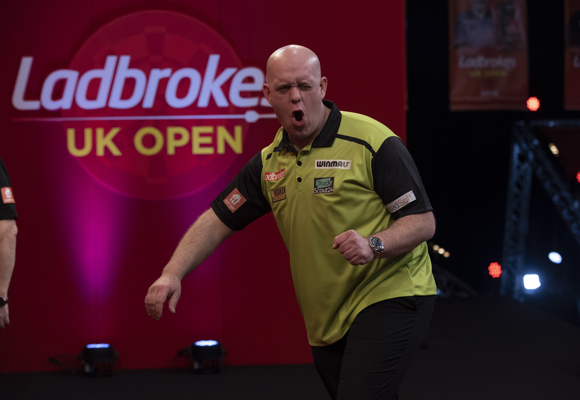 """Michael van Gerwen """"I want to win, and nothing else counts for me."""""""