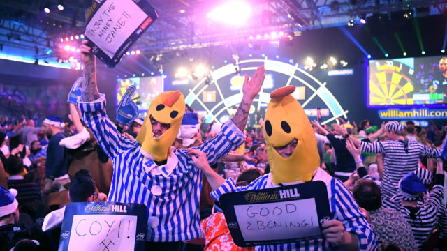 Fans return for final five Premier League Darts nights