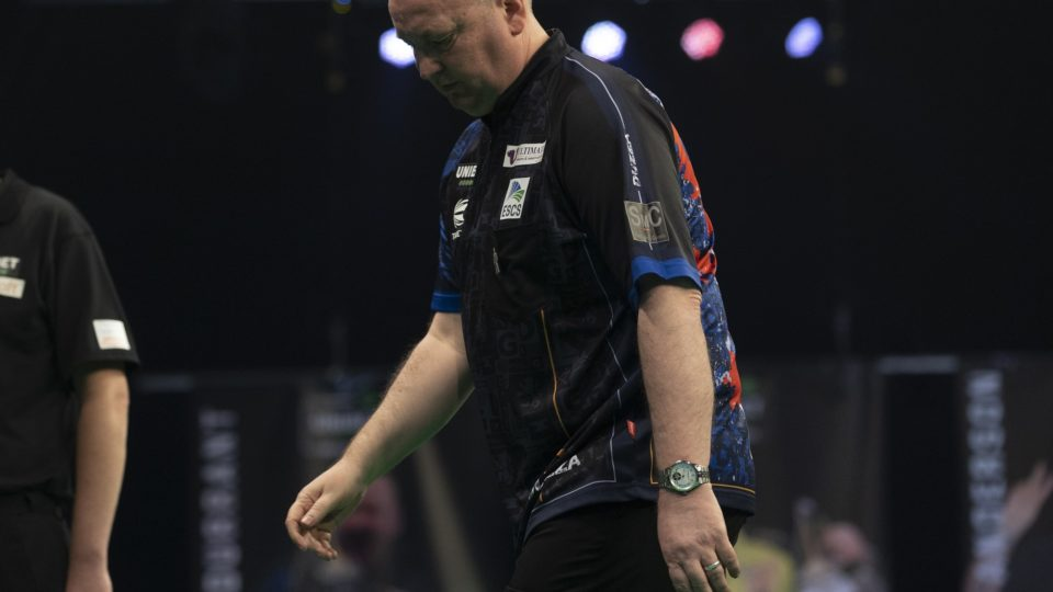 Durrant eliminated on night seven of Premier League Darts