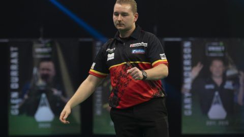 Premier League Darts night six sees Van den Bergh top table