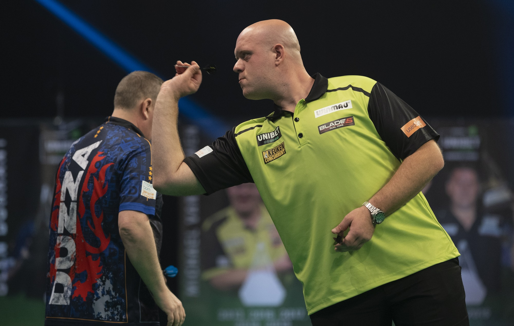 """Michael van Gerwen on Duzza """"yeah I feel sorry for the guy, because he's a nice guy"""""""